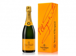VCP Yellow Label Brut N.V. Gift Box 75CL