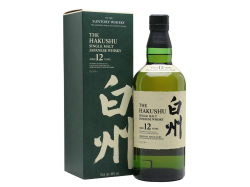 Suntory Hakushu Single Malt 12 Year 白州 43% 70CL