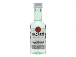 Bacardi White 40% 5CL