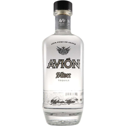 Avion Silver Tequila 40% 75CL