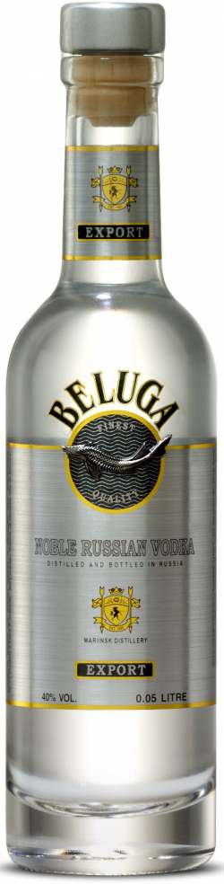 Beluga Noble Russian Vodka 40% 5CL